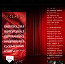 Festival de Cine de Sant Andreu de la Barca. Um projeto de Desenvolvimento Web de Angel Quereda         - 24.09.2014