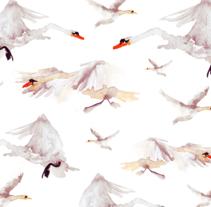 Tchaikovsky · Estampado. Um projeto de Ilustração, Moda e Artes plásticas de Marina Eiro         - 19.01.2015