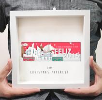 Christmas papercraft 2015.. Um projeto de Direção de arte, Artesanato, Artes plásticas e Design gráfico de Carlos Parra Ruiz - 13-01-2015
