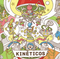 Kinéticos. A Illustration, and Packaging project by Andrés Rodríguez Pérez - 24-01-2015