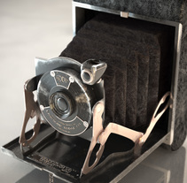 Kodak junior nº1 - CG by luisjarq. Um projeto de 3D e Design de produtos de Luis Javier  López Carracedo         - 20.09.2014