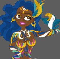 Carnival. Um projeto de Design, Ilustração, Direção de arte, Design de personagens, Design gráfico e História em quadrinhos de Ivy Nunes         - 20.01.2015