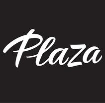 PLAZA. Logotipo para la cabecera de una revista. A Br, ing, Identit, Calligraph, T, and pograph project by Laura Meseguer - 01.22.2015