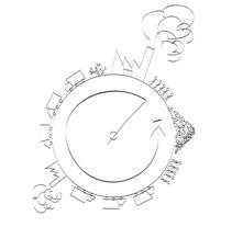 Illustrations: Human Pollution. Un proyecto de Ilustración y Diseño gráfico de Sara Ruiz Chaves         - 29.01.2015