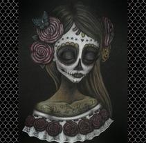 Día de Muertos. A Illustration, Fine Art, and Painting project by Soraya Fernandez Albarral - 01-02-2015