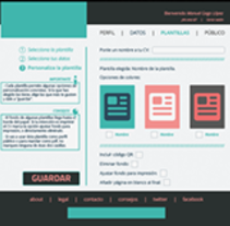 Web CV. A Graphic Design, and Web Design project by Manuel Gago         - 02.02.2015