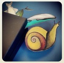 Workshops # 2  'Una caja de cuentos'. Um projeto de Ilustração, Animação, Artesanato, Educação, Artes plásticas e Pintura de Verónica Leonetti         - 07.12.2014