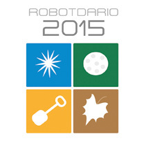 Robotdario 2015. A Illustration, Character Design, and Graphic Design project by Magda Noguera - Feb 09 2015 12:00 AM