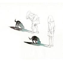 Niños línea. Un proyecto de Ilustración de Julia Lillo  - 31-12-2011