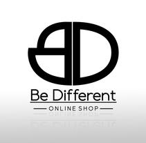 Be Different Shop - Web y Logo. Un proyecto de Br, ing e Identidad, Diseño gráfico y Diseño Web de Rubén Poveda Calderón - 07-10-2015