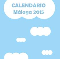 "CALENDARIO 2015 ""EN CASA"". Un proyecto de Diseño gráfico de Jess Fernández Álvarez - 13-02-2015"