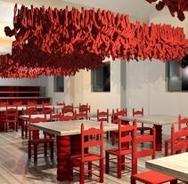 Algunos de mis antiguos diseños / infografías 3D. Un proyecto de Diseño, 3D, Arquitectura, Diseño de muebles, Arquitectura interior, Diseño de interiores y Diseño de iluminación de Raquel San José         - 18.02.2013