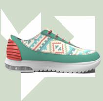 Colección Deportivo Somango  SS/15. Un proyecto de 3D, Diseño de complementos, Moda, Diseño de producto y Diseño de calzado de Raquel Sarabia Marinez         - 18.02.2015