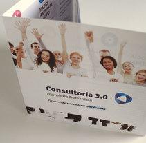 Folleto Consultoria 3.0. Un proyecto de Diseño gráfico de Chary Esteve Vargas - 13-01-2015