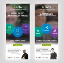 Rollups, Anfix 2015. A Graphic Design project by Álvaro Bernal Nicolás         - 25.02.2015