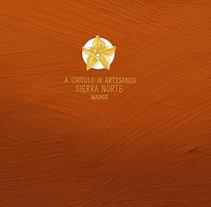 Branding, diseño web, diseño editorial. Asociación artesanal.. Un proyecto de Br, ing e Identidad, Diseño gráfico y Diseño Web de Carbhouxine Creative design         - 25.02.2014
