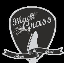 """Logo """" Black Grass """". Un proyecto de Diseño gráfico de Jose Luis Palomares         - 25.02.2015"""