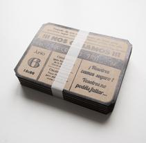 Invitaciones. A Design, Graphic Design, T, and pograph project by Fábrica de Texturas  - 14-01-2014