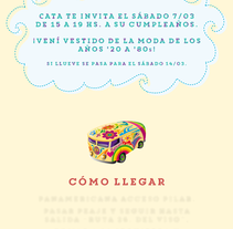 Tarjetas de cumpleaños. A Graphic Design project by Juan Cruz Maciorowski         - 14.02.2015