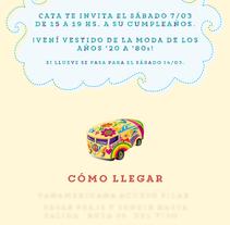 Tarjetas de cumpleaños. Um projeto de Design gráfico de Juan Cruz Maciorowski         - 14.02.2015
