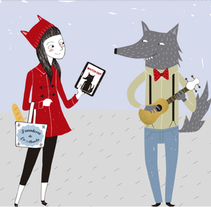 Ilustraciones Stand Samsung. A Design&Illustration project by Nuria Diaz - Jun 06 2014 12:00 AM