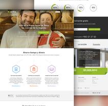 Anfix website, 2015. A UI / UX, Interactive Design, Web Design, and Web Development project by Álvaro Bernal Nicolás         - 02.03.2015