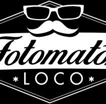 Diseño logotipo y rotulación maquina fotomatón para Fotomatónloco. A Graphic Design project by JoseRulos         - 03.03.2015
