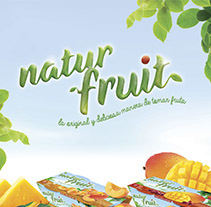 Branding, editorial, packaging, web design. Proyecto global Naturfruit. A Design, Illustration, Art Direction, Br, ing, Identit, Editorial Design, Packaging, and Web Design project by Mediactiu agencia de branding y comunicación de Barcelona  - 04-03-2015