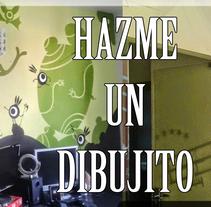 Hazme un Dibujito. A Design, Illustration, Fine Art, Interior Architecture, Interior Design, and Painting project by Desiree Arrieta         - 04.03.2015