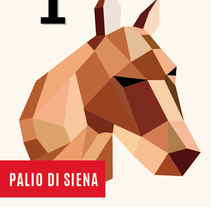 POSTER Palio Di Siena. A Graphic Design project by Evita         - 05.03.2015