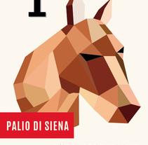 POSTER Palio Di Siena. A Graphic Design project by Evita          - 05.03.2015