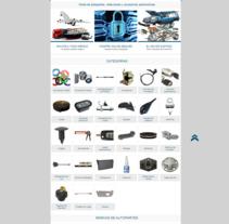 Sitio Web. A Web Design, and Web Development project by Adrián Gutiérrez - 05-06-2012
