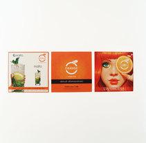 Comunicazione Orange L'apericena. Um projeto de Publicidade, Br, ing e Identidade, Eventos e Design gráfico de Guerra Graphics         - 10.05.2011