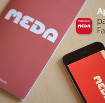 Meda Augmented Reality app. A Br, ing&Identit project by Candido Romon Diaz         - 12.03.2015