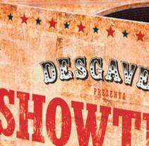 Desgavell Showtime. Un proyecto de Diseño gráfico y Packaging de Baptiste Pons         - 12.03.2009