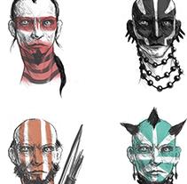 Warrior concept. Un proyecto de Ilustración de Cristian Kocak         - 13.03.2015