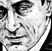 Cine de Mafia ·ilustración editorial·. A Illustration project by Fernando Llorente - Jan 01 2007 12:00 AM