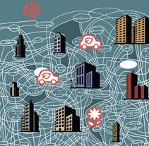 ciudad sostenible. Un proyecto de Ilustración de Marcelo Spotti         - 21.03.2015