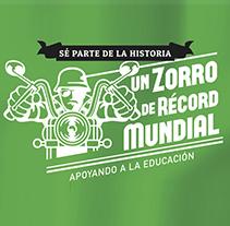 Caravana del Zorro Castrol 2015. A Graphic Design project by Sara Carrera         - 31.12.2014