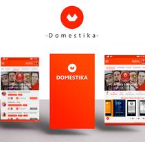 DOMESTIKA Windows Phone App. A Design, UI / UX, Art Direction, Graphic Design, Information Architecture&Interactive Design project by Danann         - 24.03.2015