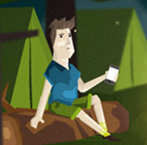 Bankia TPV. A Animation, Character Design&Illustration project by Pedro Alón - Jan 03 2015 12:00 AM
