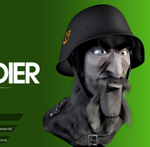 Sold Soldier Speed Sculpt. A 3D, and Sculpture project by Víctor Lobo         - 24.02.2015