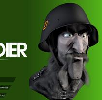Sold Soldier Speed Sculpt. Un proyecto de 3D y Escultura de Víctor Lobo         - 24.02.2015