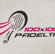 Branding 100x100 Padel. Un proyecto de Br e ing e Identidad de Salvador Nicolás         - 05.04.2015
