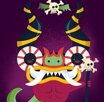 El Diablito. A Character Design project by Eduardo Martinez         - 21.06.2015