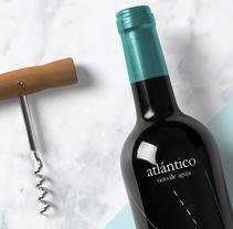 atlántico.. A Graphic Design project by Cristina Sanser         - 08.09.2015