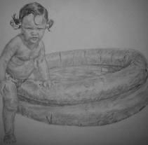 Baby in water. Un proyecto de Bellas Artes de Alberto Castiñeira Iglesias         - 27.04.2015