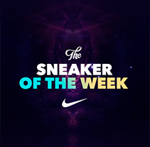 Nike - The Sneaker of the week. Un proyecto de UI / UX, Diseño interactivo y Diseño Web de Owi Sixseven  - 28-04-2015