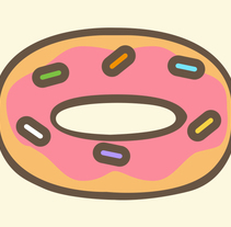 NATIONAL DOUGHNUT WEEK. A Illustration, and Graphic Design project by Neosbrand  - 29-04-2015