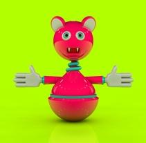 3D Toy Design. Um projeto de Design, 3D e Animação de Rebeca G. A         - 29.04.2015